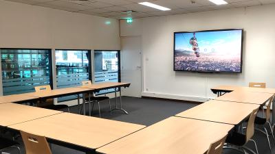 Meije room interactive screen