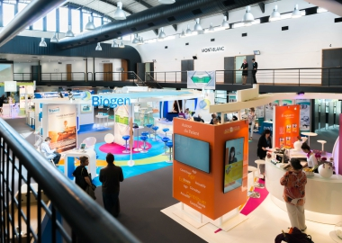 Exhibitions - booths Grenoble Congres Center