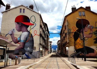 Grenoble et le Street Art