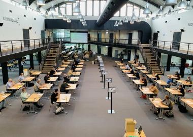 Examen taxi Centre de Congrès WTC Grenoble