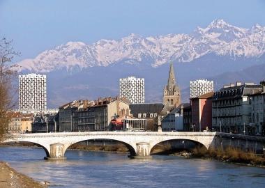L'Isère et les trois tours