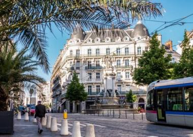 Le centre-ville de Grenoble
