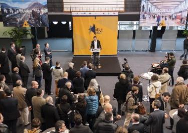 Sonorisation Atrium Centre de Congrès WTC Grenoble