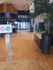 COVID sens de circulation à l'accueil  du WTC Grenoble